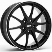 STR 610 Matte Black Wheels