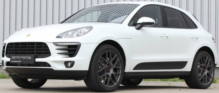 TSW Nurburgring Wheels on Porsche Macan