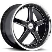 TSW Carthage Five Spoke Gloss Black Alloy Wheels