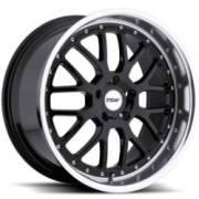 TSW Valencia Gloss Black Machined Alloy Wheels