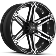 Tuff All Terrain T-01 Black Mach w/ Chrome Inserts