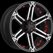 Tuff T-01 Black Machine w/Red Inserts