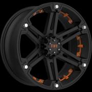 Tuff All Terrain T-01 Flat Black w/Orange Inserts