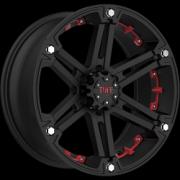 Tuff All Terrain T-01 Flat Black w/Red Inserts