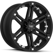 Tuff All Terrain T-01 Black w/ White Inserts