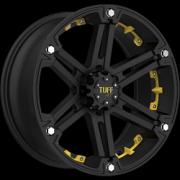 Tuff All Terrain T-01 Flat Black w/ Yellow Inserts