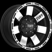 Tuff All Terrain T-02 Black Machined