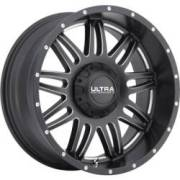 Ultra 188 Soldier Satin Black Milled 6-lug