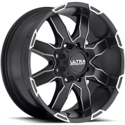 Ultra Wheels 225 Phantom Black Diamond Cut