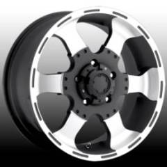Ultra Wheel Marauder Matte Black Machined
