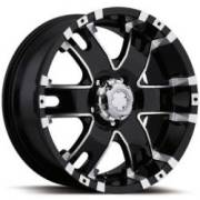Ultra Wheels Baron Black Diamond Cut
