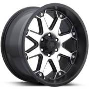 Ultra WheelsBolt 198 Semi-Gloss Black Diamond Cut