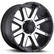 Ultra Wheels Crusher 195 Semi-Gloss Blk Diamond