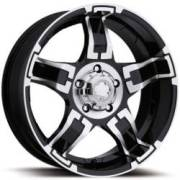 Ultra Wheels Drifter 193/194 Gloss Black Machined