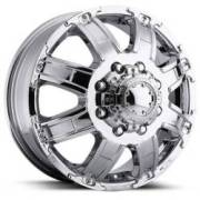 Ultra Wheels Gauntlet Dualie 024 Chrome Front
