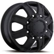 Ultra Wheels Gauntlet Dualie 024 Matte Black Front