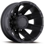 Ultra Wheels Gauntlet Dualie 024 Matte Black Rear