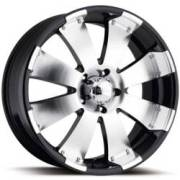 Ultra Wheels Mako 243/244 Machined Gloss-Black