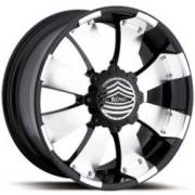 Ultra Wheels Mako 243/244 Semper Fi Gloss Black