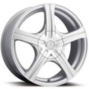 Ultra Wheels Slalom 404 Brilliant Silver