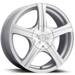 Ultra Wheels Slalom 404 Brilliant Silver