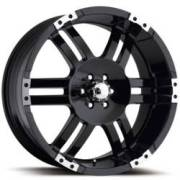 Ultra Wheels Thunder 247/248 Gloss-Black Machined