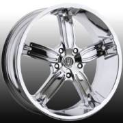 Versante 205 5 Spoke Chrome