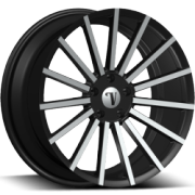 Velocity VW17A Machine Black Wheels