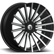 Velocity VW17B Machine Black Wheels