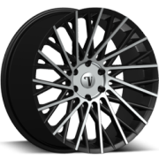Velocity VW16 Machine Black Wheels