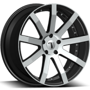 Velocity VW19 Machine Black Wheels