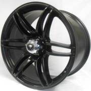 White Diamond 6007 Matte Black Wheels
