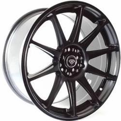 White Diamond WD-0051 Matte Black Wheels