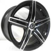 G-Line Alloy 3143 Black MachineWheels