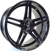 White Diamond 3184 Gloss Black Wheels