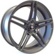 White Diamond 3184 Matte Black Wheels