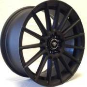 White Diamond 3193 Matte Black Wheels