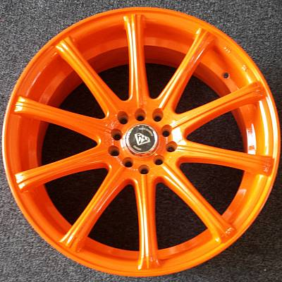 White Diamond 3195 Orange Wheels