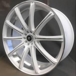 White Diamond 3195 White Machined