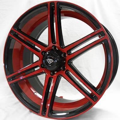 White Diamond 3198 Red Black