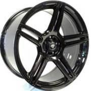 White Diamond 5086 Gloss Black Wheels