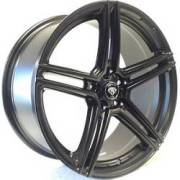 White Diamond 5086 Matte Black Wheels