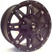 White Diamond 5610 Matte Black Wheels