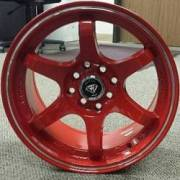 White Diamond 6011 Red Wheels