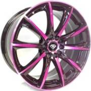 White Diamond W1026 Pink and Coffee Wheels