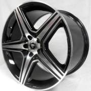White Diamond 5098 Black Machined