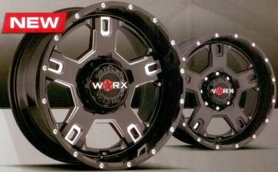 Worx 802 Havoc Truck Wheels