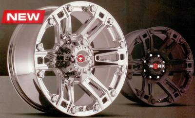 Worx 803 Beast Truck Wheels