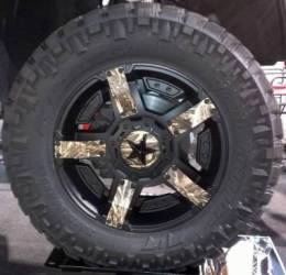 XD Series 811 Camo Duck Dynasty Wheel