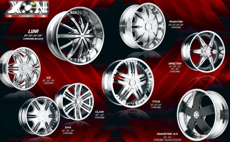 Xon Concepts Wheels